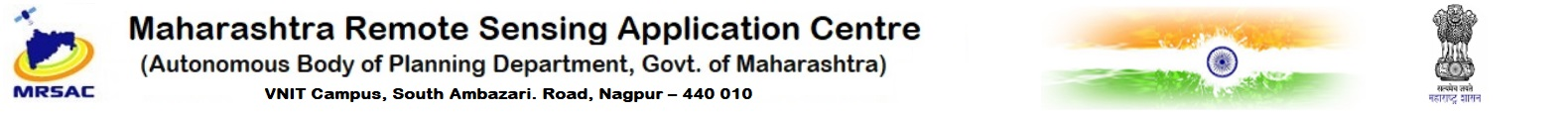 MAHARASHTRA REMOTE SENSING APPLICATION CENTRE